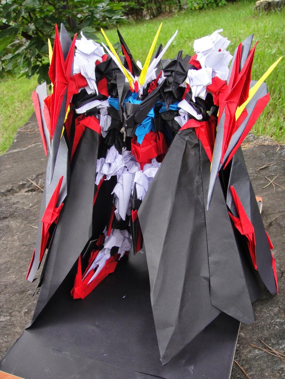 GUNDAM GUY Gundam Papercraft Origami Dark Strike