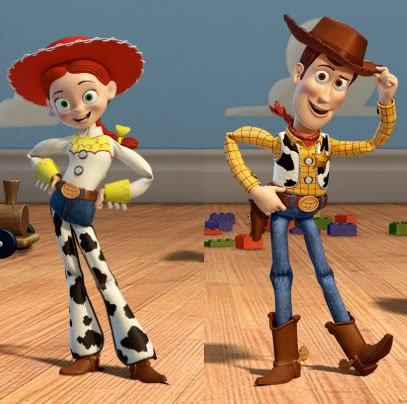 ... Chiquis: Halloween Costumes Toy Story's Woody and Jessie Part 1