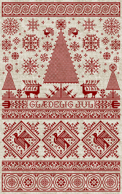 Make danish paper christmas decorations - Jacob De Graaf And Embroidery Designs For X Mas