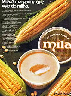 propaganda margarina mila de 1973, 1972; os anos 70; propaganda na década de 70; Brazil in the 70s, história anos 70; Oswaldo Hernandez;