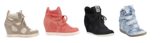 how to wear sneaker wedges