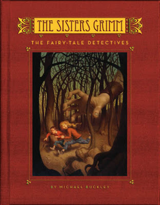 The first book in the Sisters Grimm series, The Fairy-Tale Detectives