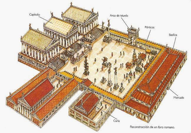 Algargos arte e historia arquitectura romana for Foro casas con vida