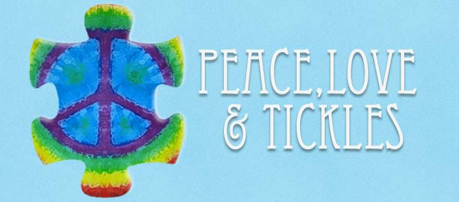Peace, Love and Tickles