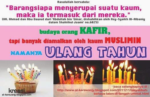 Larangan Perayaan Ulang Tahun (Fatwa Para Ulama)