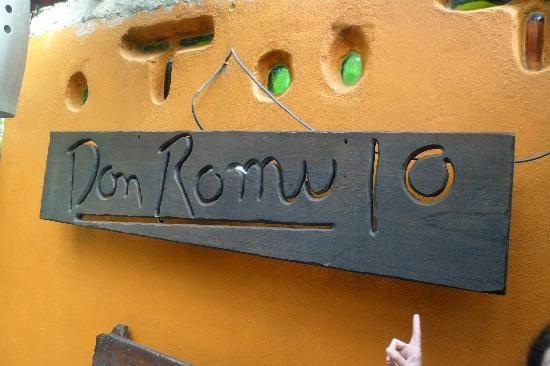 "Ristorante ""don Rómulo"""