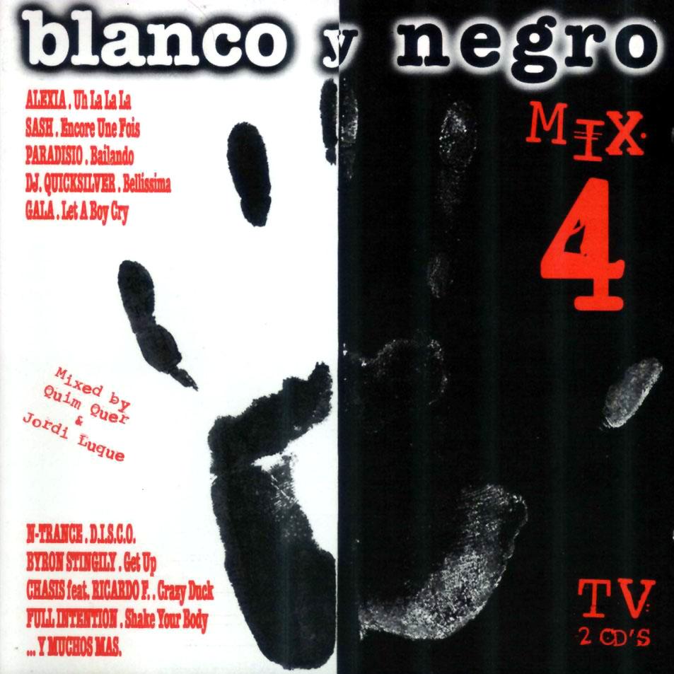 Dance of the 90 39 s blanco y negro mix 4 - Blanco y negro ...