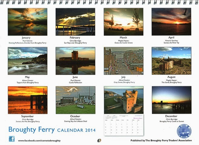 Laurie Bidwell Broughty Ferry 2014 Calendar On Sale In The Ferry