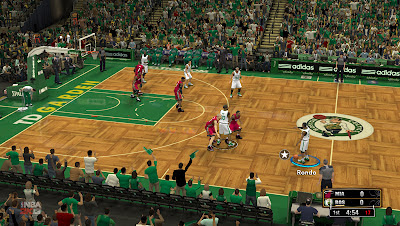 NBA 2K13 Boston Celtics Court Patch HD Mod PC