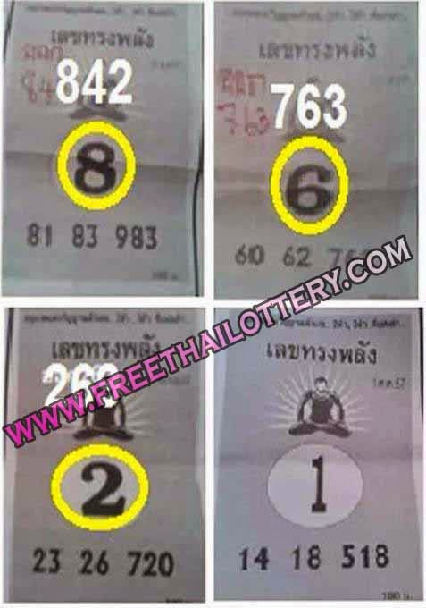 FREE THAI LOTTO LOTTERY BEST SINGLE SURE DIGIT 01-10-2014