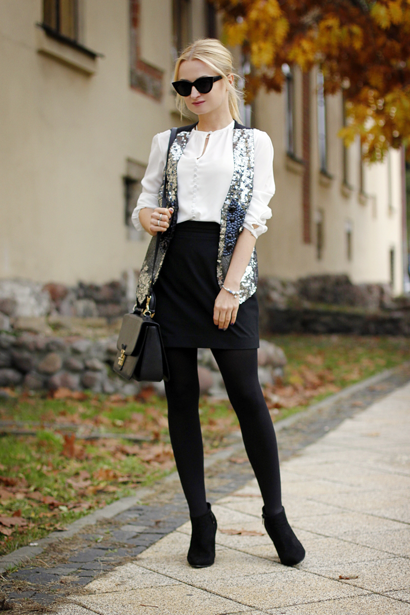 Silver Sequins