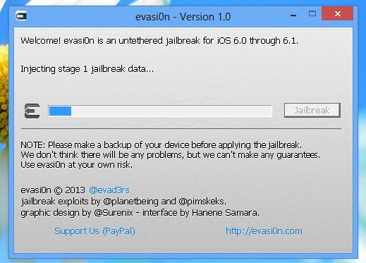 jailbreak ios 6.1 windows