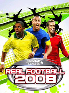 Real Football 2008 Nokia N81 Symbian 3rd Cell Phone Game