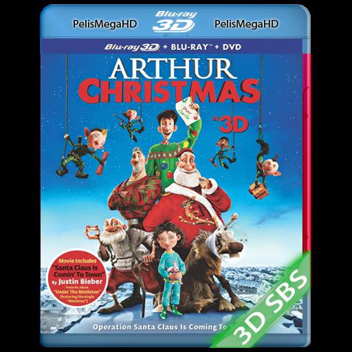 ARTHUR CHRISTMAS: OPERACIÓN REGALO (2011) 3D SBS 1080P HD MKV ESPAÑOL LATINO