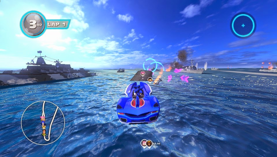 Sonic All-Stars Racing Transformed Download Free