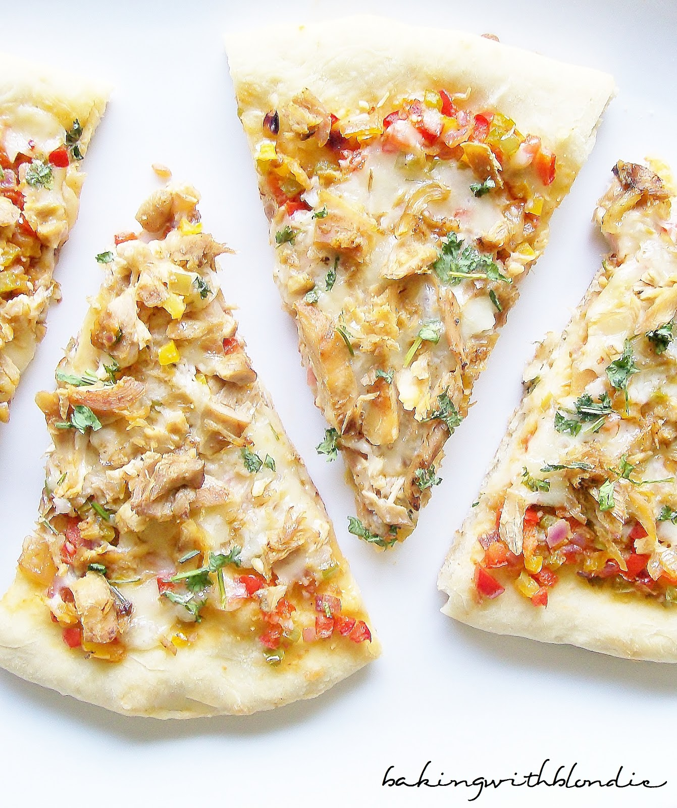 Baking with Blondie : Spicy Chicken Pizza with Pepper Jack Cheese and ...