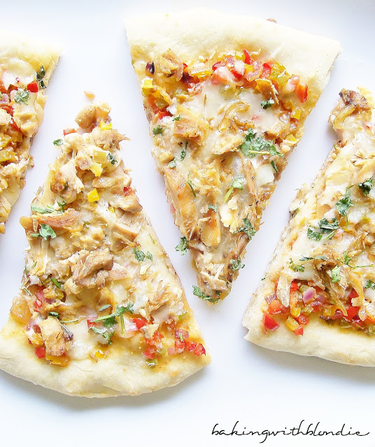 Spicy Chicken And Pepper Jack Pizza Recipe — Dishmaps