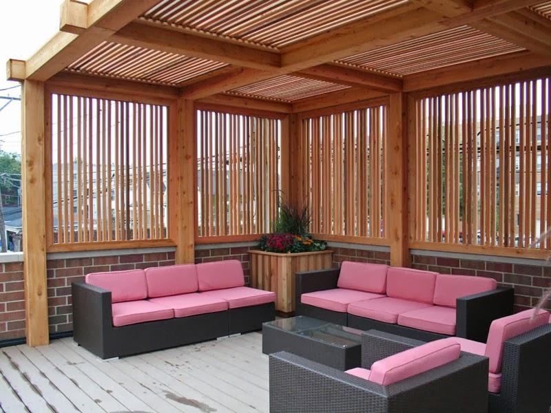 rumah bambu model rumah modern