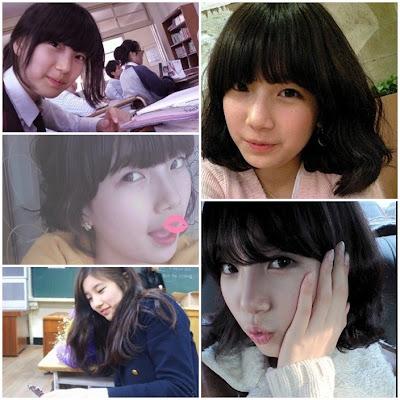 foto masa lalu Miss A Suzy ketika sekolah menengah