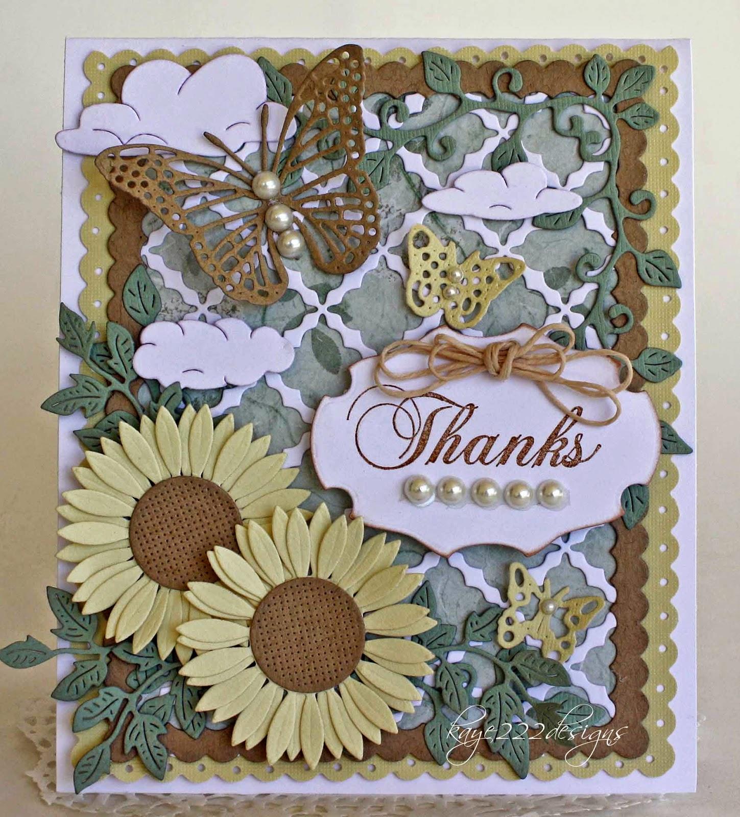 Thanks By Lisa Blastick Cheery Lynn Designs Inspiration