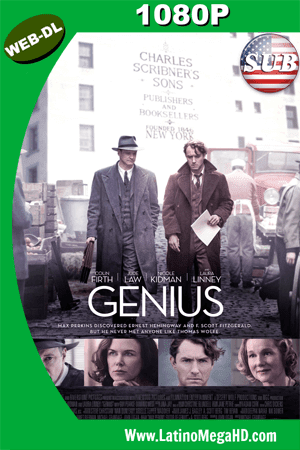 Genius (2016) Subtitulado HD WEB-DL 1080P ()