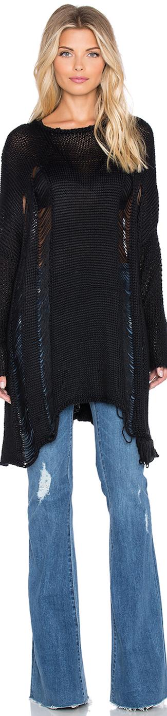 Show Me Your MUMU Drop Needle Sweater