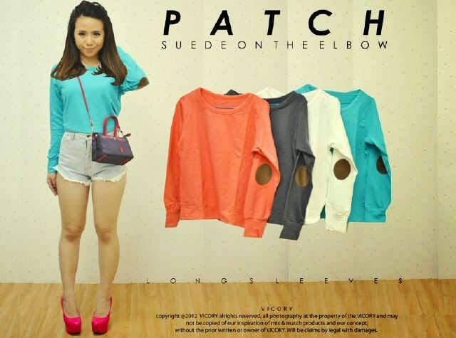 baju panjang patch, wanita, online shop, terbaru, mode