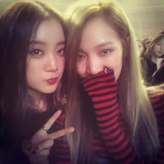 WG's Lim enjoys Justin Bieber's concert with Miss A's Jia