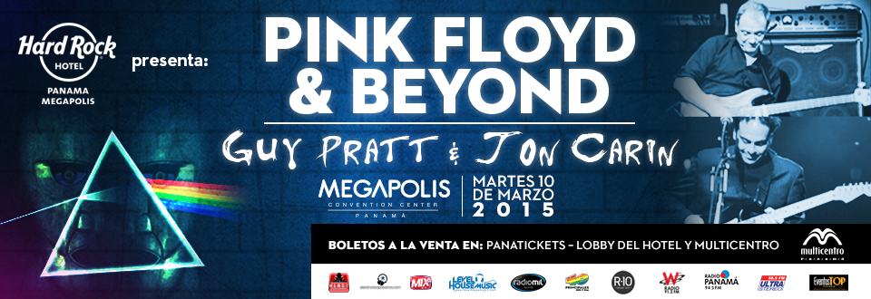 Pink Floyd & Beyond - Hard Rock Hotel.