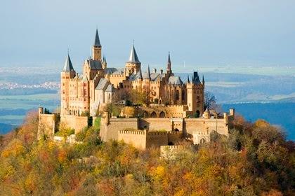 Hohenzollern Kalesi - Almanya'daki Şatolar
