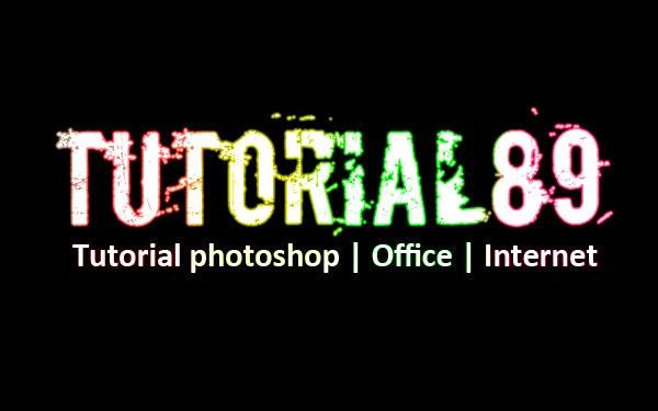 Cara membuat tulisan efek neon glow dengan photoshop