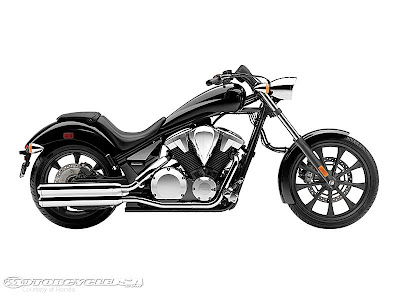 2012 Honda Fury Black Color