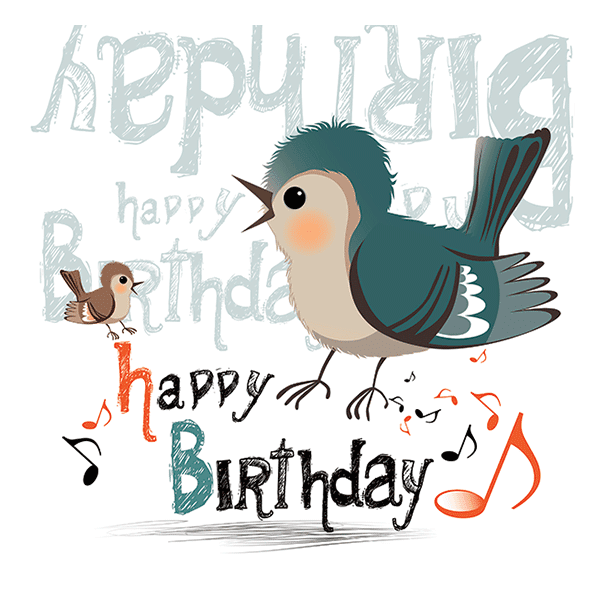 Birthday Bird