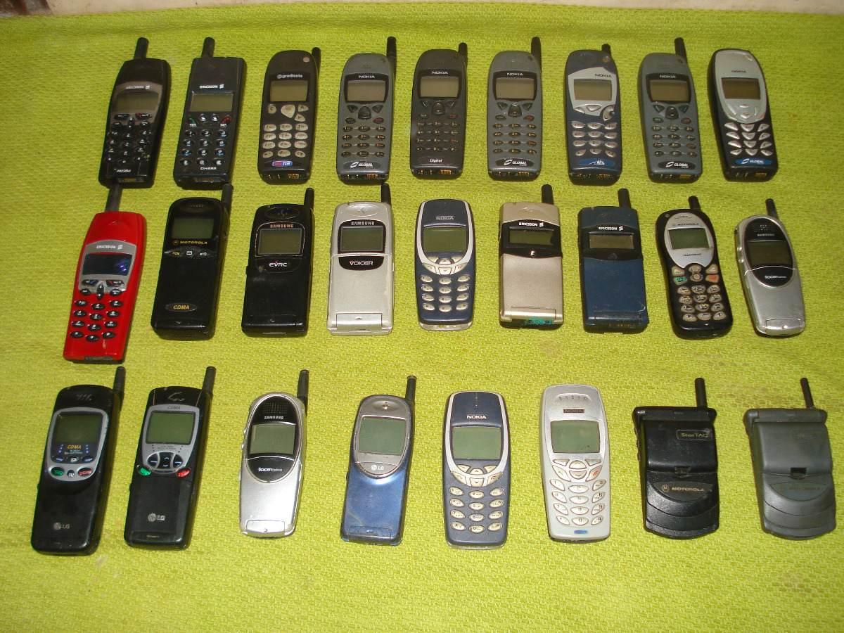 Os 15 celulares mais vendidos de todos os tempos  - imagens celulares antigos