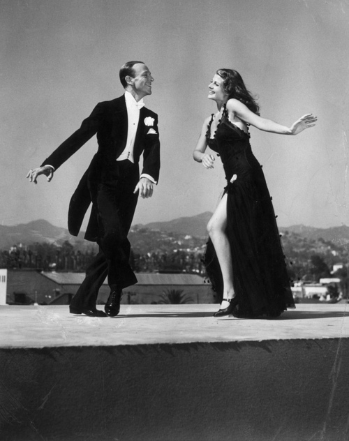 Fred Astaire y Rita Hayworth