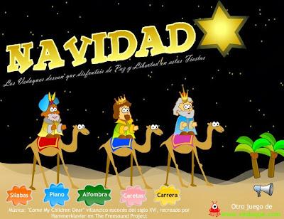 http://www.vedoque.com/juegos/navidad2007.swf?idioma=es