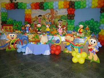 Festa do Breno- Chico Bento e sua turma