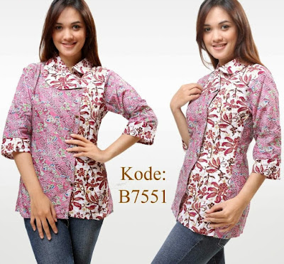 Model Baju Batik Terbaru 2016