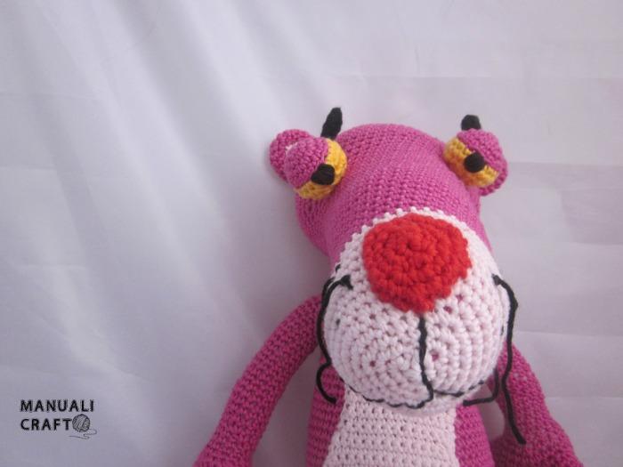 Pantera rosa en amigurumi Manualicraft - Amigurumi ...