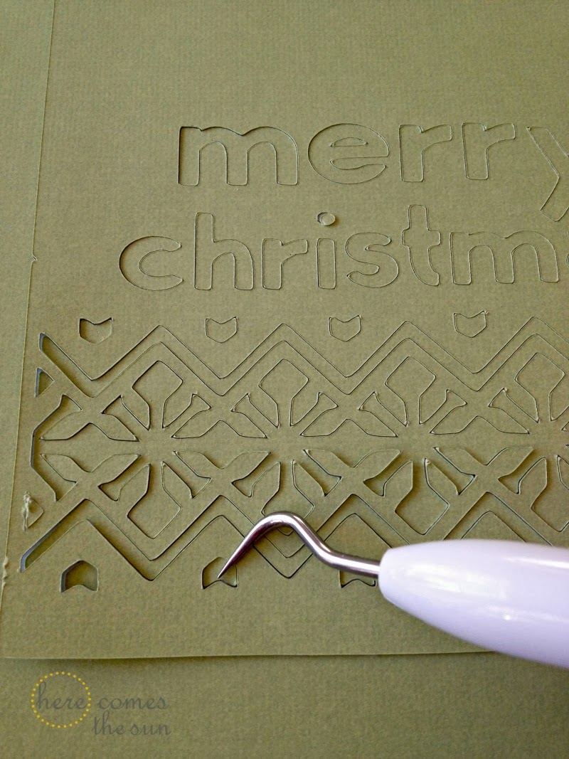 how to make christmas cards with cricut