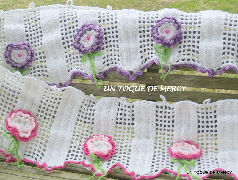 Accesorios De Baño A Crochet:UN TOQUE DE MERCY: SET PARA BANO DE CROCHET