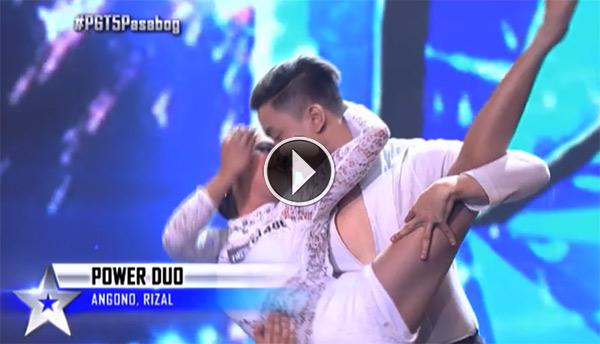 watch power duo gets first golden buzzer on pgt