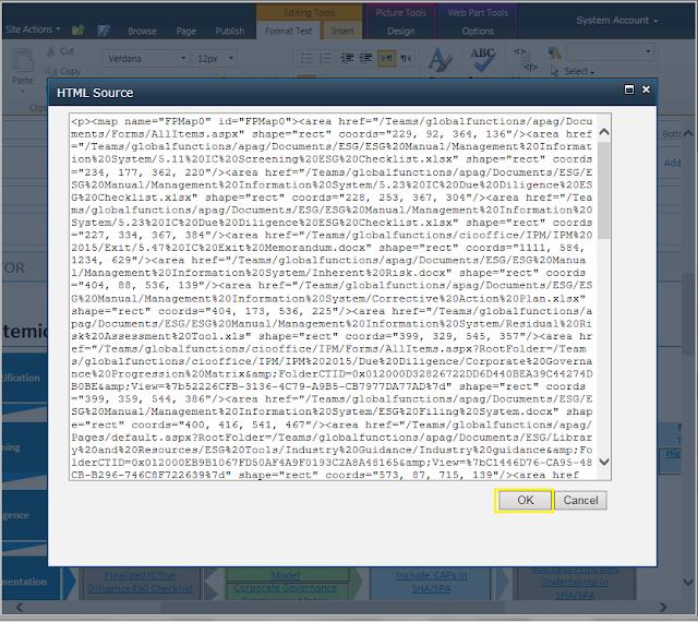 html image map sharepoint designer