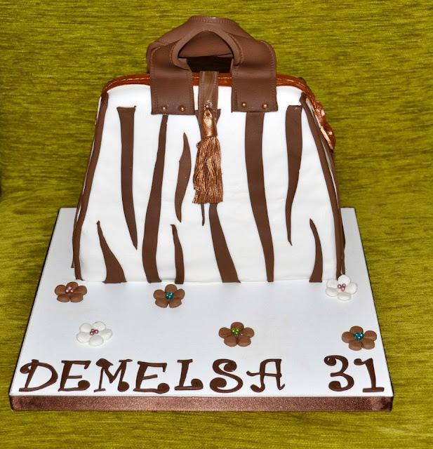 cake bag tarta bolso Fondant sugar dreams gandia  cremallera, animal print, cebrado, cebra