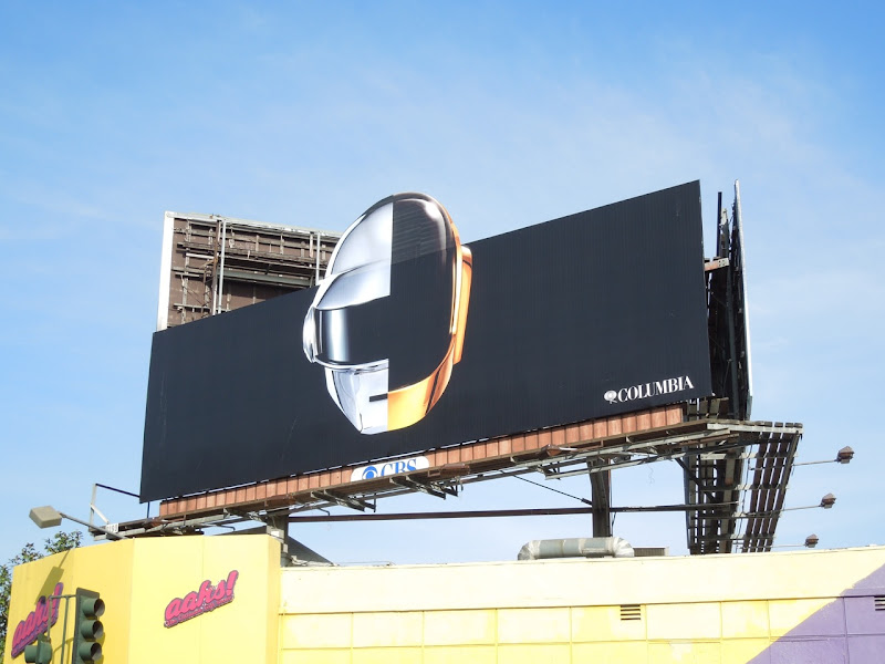 Daft Punk Random Access Memories album billboard