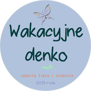 Wakacyjne denko - czyli zużyte opakowanie w lipcu i sierpniu