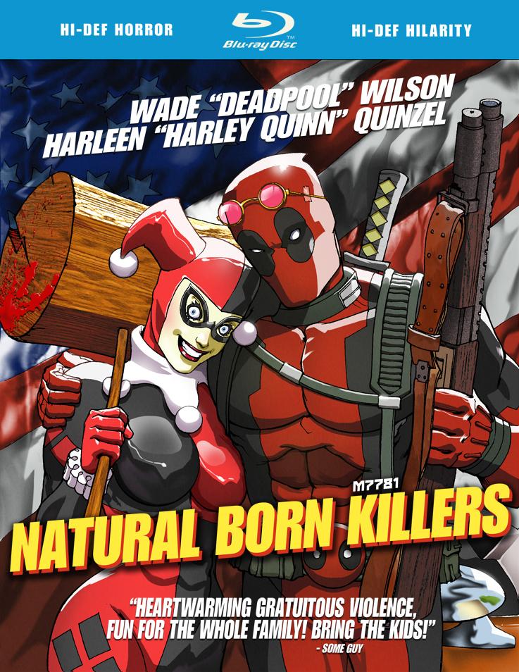 Geeky femmes - Deadpool harley quinn notebook ...