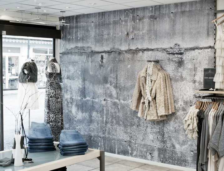 Fiorito interior design wallpaper the concrete collection for Interieur verf kleuren