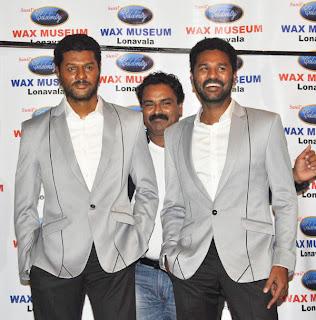 Prabhu Deva Launch His Wax Statue Photo Gallery
