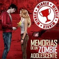 """Ganadores del concurso """"Zombie Adolescente"""""""